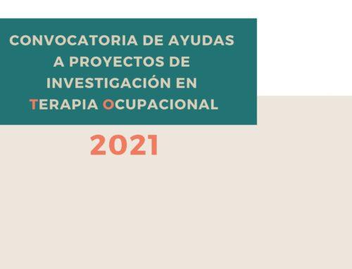 CONVOCATORIA AYUDAS DE INVESTIGACIÓN 2021